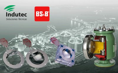 Indutec, representante en exclusiva BS&B Safety Systems